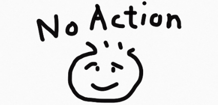 ノーアクション