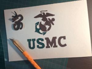 USMCステンシル1