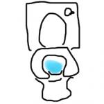ブラックアパレル企業のトイレ掃除