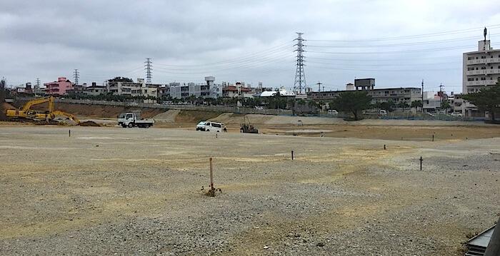 10月4日アリーナ建設1
