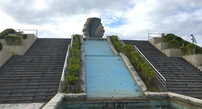 安良波公園・階段
