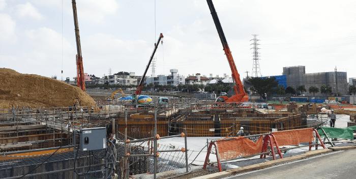 3月7日アリーナ建設4