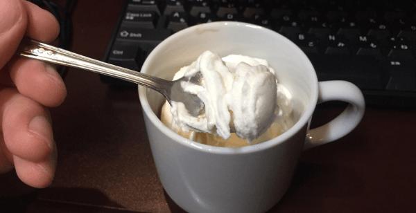 ネットカフェ・ソフトクリーム